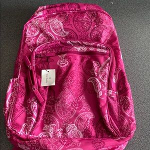 Vera Bradley backpack stamped paisley